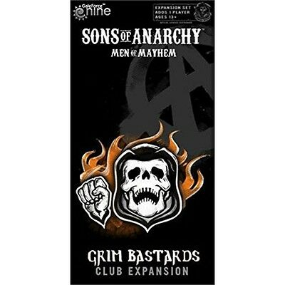 Sons Of Anarchy Men Of Mayhem Battlefront Board Game Expansion - Family Fun