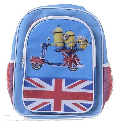 Minion Movie British Backpack With Pockets