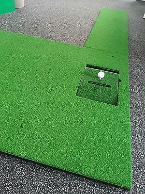 Estera para saque XL con Puttingbahn, Calidad Pro Optishot Golfsimulator, RH LH