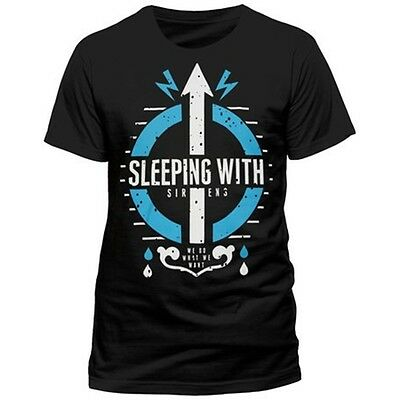 Sleeping With Sirens - Care Unisex Black T-shirt - X-large