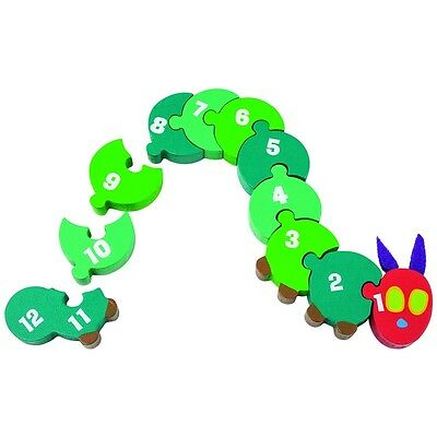 The Very Hungry Caterpillar Wooden Counting Caterpillar, By Rainbow Designs