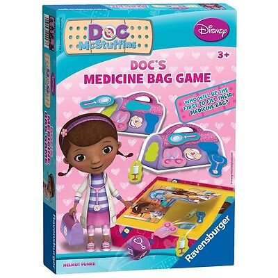 Disney Doc Mcstuffins Medicine Bag Game - Ravensburger 's