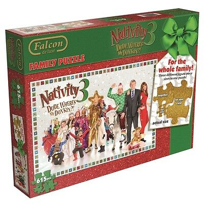 "Falcon De Luxe - Nativity 3 ""dude Where's My Donkey"" Jigsaw Puzzle (615 Pieces)"