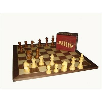 "Staunton In Indian Wood 2"" Chess Pieces - Sac"