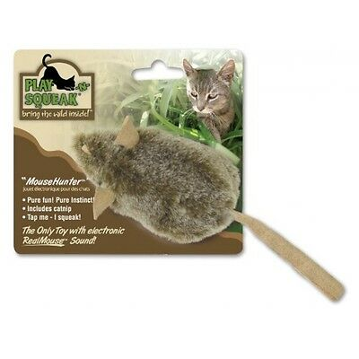 Ourpets Specialty Chocolate Mouse Hunter Cat Toy