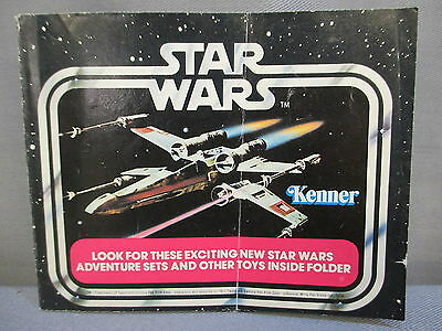 """STAR WARS Accessory """"CATALOG"""" Insert Book 1977 Vintage A New Hope"""