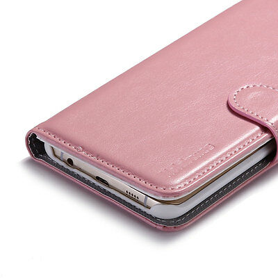 Magnetic Flip Leather Wallet Stand Case Cover for Samsung Galaxy S6 Edge + Plus