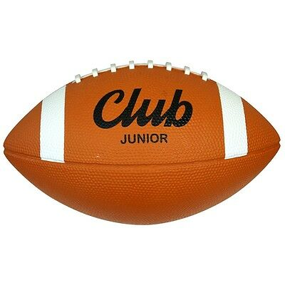 Junior Midwest Club American Football - Rubber Surface 100% Rubber Bladder