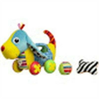 Pippin The Push Along Pup Baby Toy - Lamaze Ball Rattles Squeakers Crawling