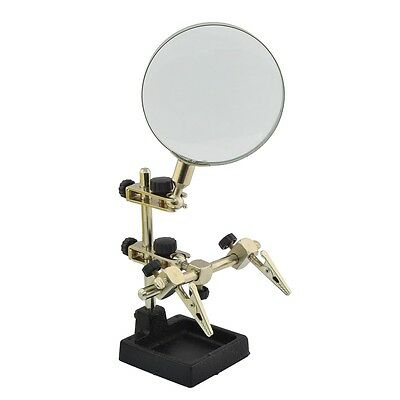 Helping Hand Magnifying Glass - Rolson Heavy Duty Arts Science Magnifier (60338)