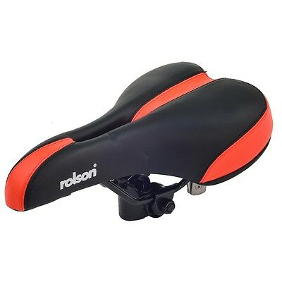 Black & Red Men's Spare Bicycle Seat - Rolson & Mens Saddle Bike Accessory