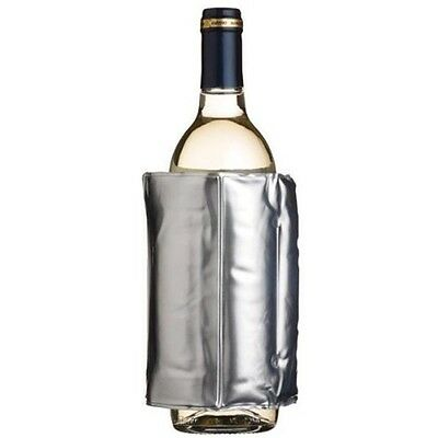 Silver Wrap Around Wine Cooler - Keeps And Beer Bottles For Longer