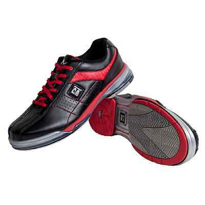 Brunswick TPU X BLACK/RED Mens Right Handed Interchangeable Bowling Shoes