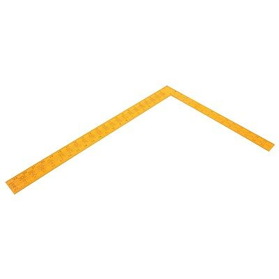 400 x 600mm Roofing Square - Rolson 400 Builders Roofers Diy Tool Tiling Ruler