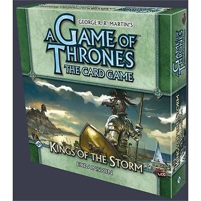 A Game Of Thrones Kings Of The Storm Lcg Expansion - Card