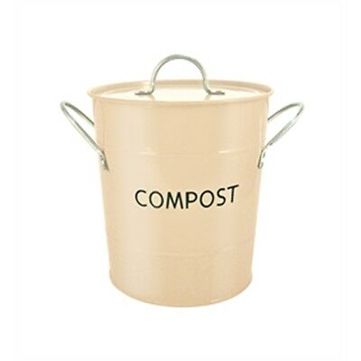 Buttercream Compost Pail Bucket - Cream Odour Beating Caddy Kitchen Food Waste