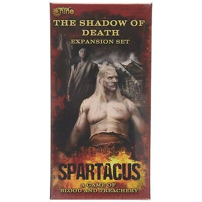 Spartacus Gale Force Nine Shadow Of Death Expansion Board Game