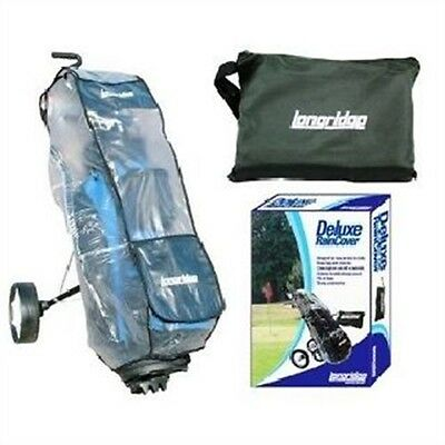 Deluxe Golf Trolley Rain Cover - Bag Clubs Dry Heavy Duty Water Proof Pvc