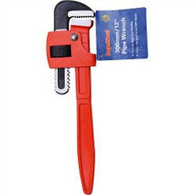 """12"""" Pipe Wrench With Mobile Jaw & Handle - Supatool 12"""" Pliers Wrenches Tools"""