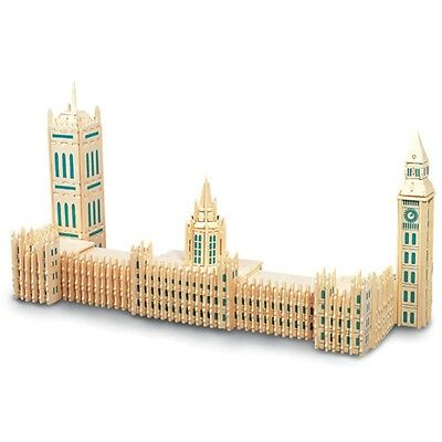 Houses Of Parliament Woodcraft Construction Kit - Fsc Wooden Model Game Building