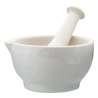 136mm Home Made Ceramic Mortar And Pestle - , Gift Boxed Herb Spices Salt