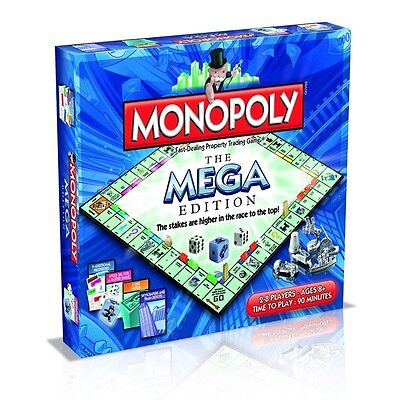 Mega Monopoly Family Board Game - Edition