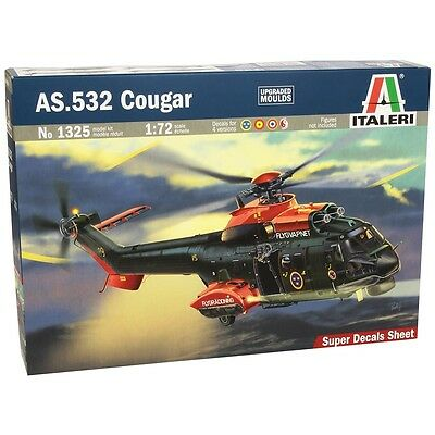 As.532 Cougar - 1:72 Scale 1325 Italeri Model Kit Set
