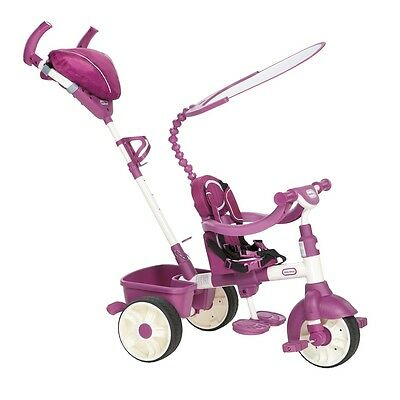 Little Tikes 4-in-1 Sports Edition Trike (pink/ White) - Sport Bicycle Bike