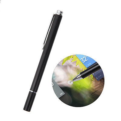 Fine Point Round Thin Tip Capacitive Stylus Pen For iPad 2 3 4 Air 2 Mini iPhone