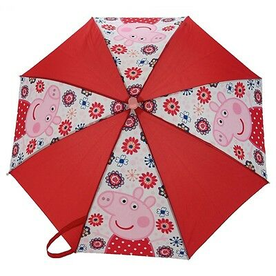 Peppa Pig Tropical Paradise Umbrella - Official Kids Pinch Proof Childrens Gifts