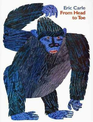 From Head to Toe by Eric Carle (English) Paperback Book Free Shipping!