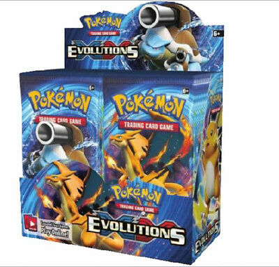 Pokemon TCG: XY12 Evolutions Booster Box (36 Packs)