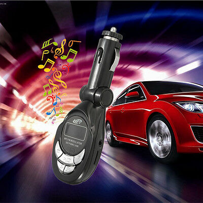 KIT Car MP3 Wireless FM Transmitter Mains Libres Voiture Lecteur SD Handsfree