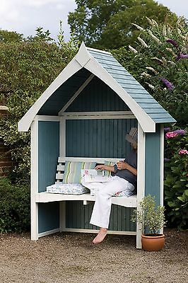 Forest Garden Limoge Arbour Anti Rot Pressure Treated Wood