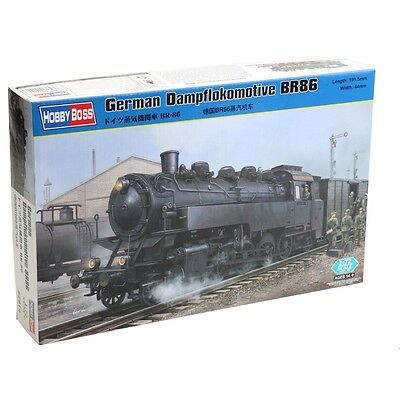 1:72 German Dampflokomotive Train Model - Br86 Hobbyboss Plastic Kit Miniature
