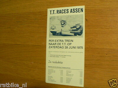 1975 Flyer Dutch Tt Assen  Trein ,Train