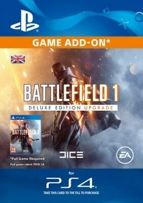 Battlefield 1 Deluxe Edition Content PS4 - Same Day Dispatch