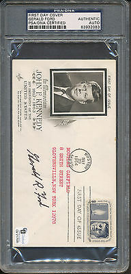 Gerald Ford Signed First Day Cover PSA/DNA Certified Authentic Auto *2083
