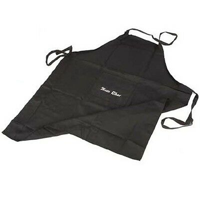 Extra Large Black Mister Chef Apron - Mr XL Mens Cooking Clothing Accessory