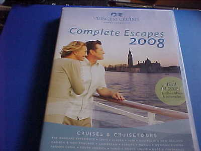 Princess Cruises DVD - Complete Escapes 2008