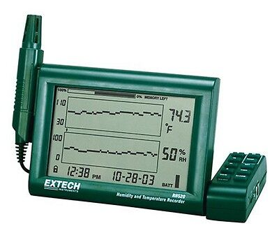 Extech RH520A Humidity and Temperature Chart Recorder with RS-232