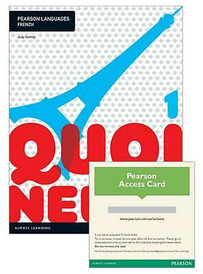 Quoi de neuf ? 1 Student Book with Reader+ by Judy Comley Free Shipping!