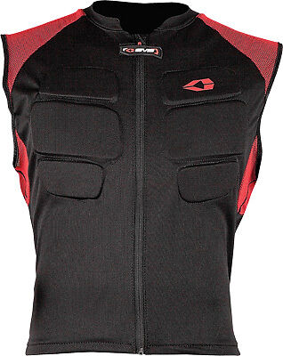 EVS Comp Vest Black Street Sport Race Motorcycle Riding Back Protector