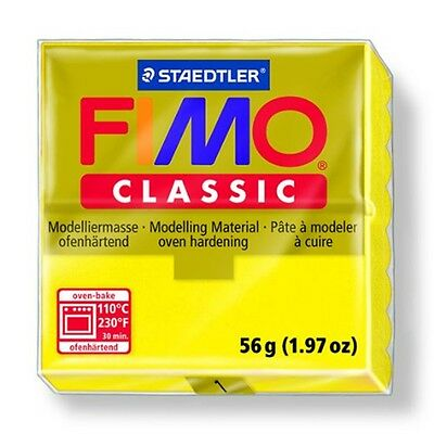 Fimo Classic Modelliermasse, Gelb