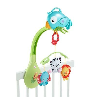 Fisher-price Forêt Tropicale 3-en-1 Mobile Musical