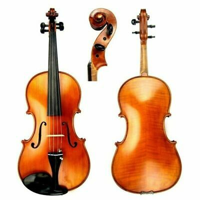 "Gliga GEMS II 16"" Viola Outfit Antique Model setup Helicore Strings  Case & Bow"