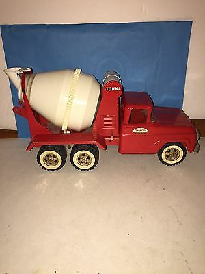 Vintage 1958 Tonka Cement Mixer Truck. Works. Purchased from Original Owner.