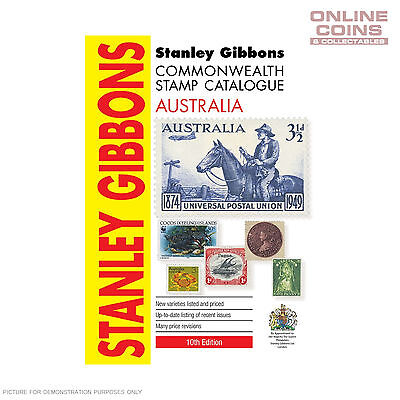Stanley Gibbons - Commonwealth Stamp Catalogue Australia 10th Edition SC Book