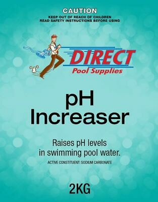 pH Increaser / Soda Ash 2 kg For Pools & Spa. Sodium Carbonate.