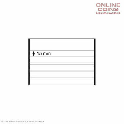 Lighthouse Approval Card (210 x 148mm) 5 STRIPS 15mm Black with Protective Cover